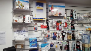 Here we have kettle tipper, mini jug kettle, 2 handled mug, two handled china cup, disposable aprons, napkleens (disposable 'stick on' napkins) , bib's, keysafe, hydrant, jar opener, j-popper, one-handed tin-opener, electric tin opener, wooden bed tray, one touch can opener, tap turners, multi-opener, tube master, can key, non-slip matt, good grips cutlery, rocker knife, knork, key turner, bibs, food guard, stay warm feeding dish,novo cup, shatter proof mug and a caring mug!