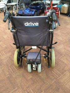 A wheelchair powerpack