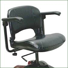 ATM Ultralight mobility scooter light weight swivel seat with removable and width adjustable arms