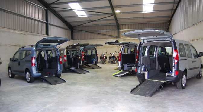 Here we have our wheelchair adapted vehicles, wheelchair accessible vehicles and mobility scooter friendly vehicles at our unit in Rochford near Southend in Essex. The wheelchair accessible vehicles, wheelchair adapted vehicles and mobility scooter friendly vehicles come with ramps and winches for easy wheelchair/ mobility scooter access.