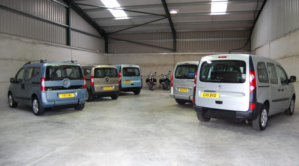 Here we have Essex WAV's / All Terrain mobilitys wheelchair adapted vehicle / wheelchair accessible vehicle showroom located near southend in essex. On display we have an array of ex- motability schene wheelchair adapted and wheelchair accessible vehicles on display with ramps and winches to make traveling with your wheelchair or mobility scooter a piece of cake!
